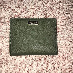 NWT Kate Spade Camo Green Wallet